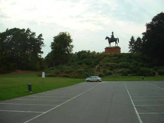 The Wellington Monument, Aldershot