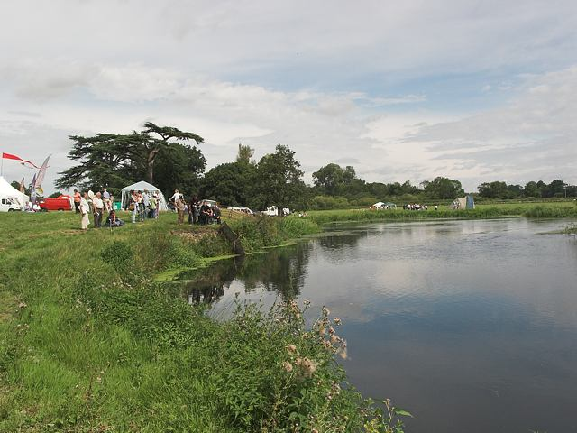River Avon in Somerley Park
