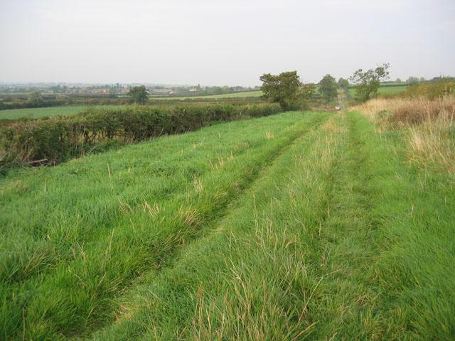 Farm track near Stathern