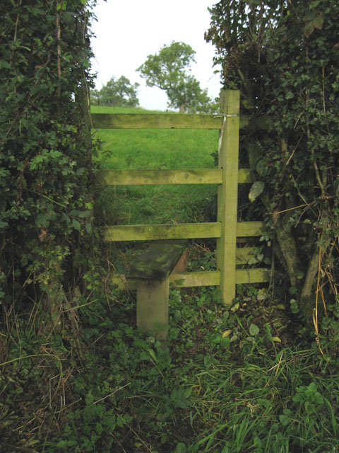 Stile on Brock Hill, Leicestershire