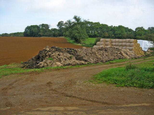 Site of old railway sidings near Holwell