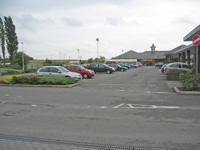 Supermarket, Thorpe Road, Melton Mowbray