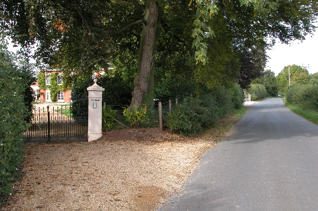 Entrance to Red Hill Farm, Highleadon