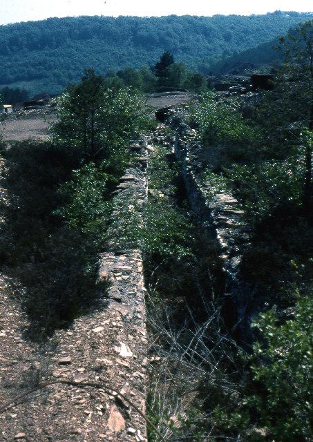 Disused arsenic flue, Blanchdown Wood, 1978