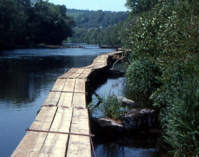 Fishing platforms, River Tamar