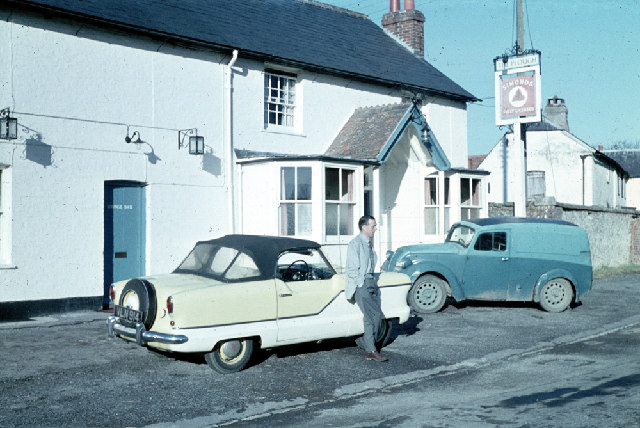 Plough Inn, Shalborne, Wilts. 1959