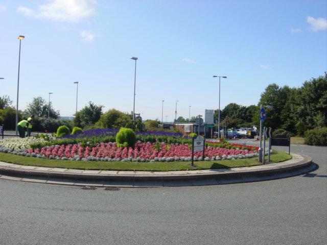 Roundabout Otterspool Promenade