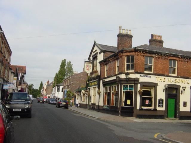 Restaurants and pubs in Lark Lane.