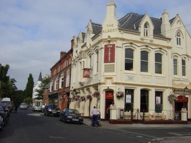 The Albert public house, Lark Lane