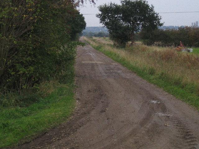 Farm track, Swanpool