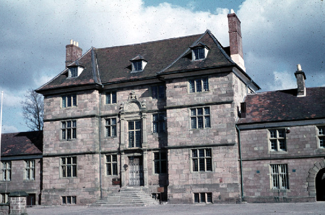 Great Castle House, Monmouth, 1959