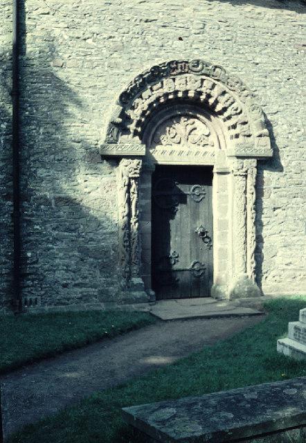 Carved Doorway - Kilpeck Church