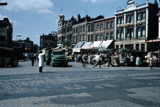 Woolwich Market 1959