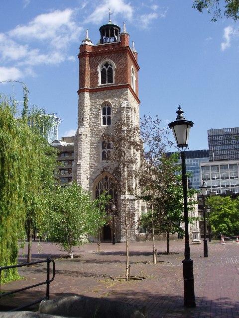 St Giles Church, Cripplegate