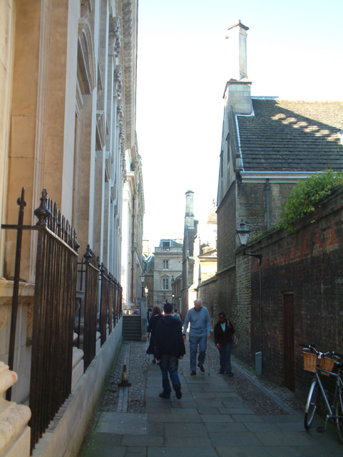 Senate House Passage, Cambridge
