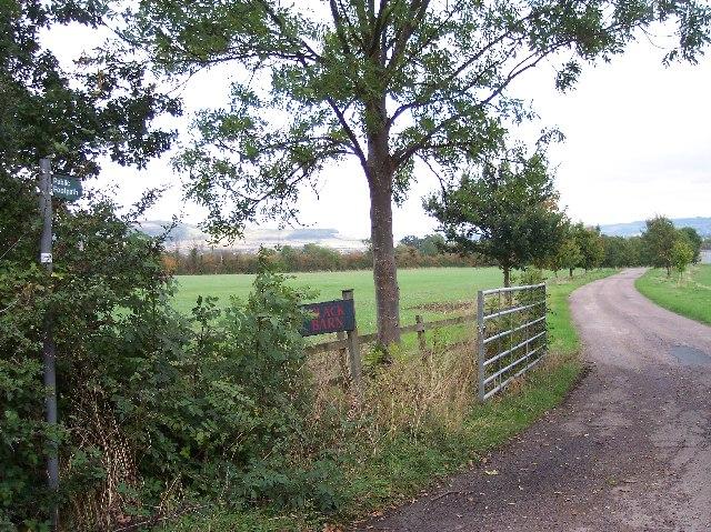 Farm Track to Black Barn