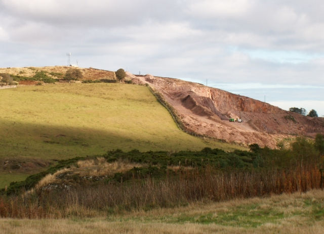 Balmullo quarry and Lucklaw