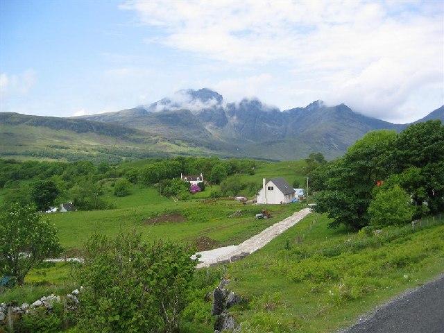 Torrin, by Loch Slapin, and Bla Bheinn