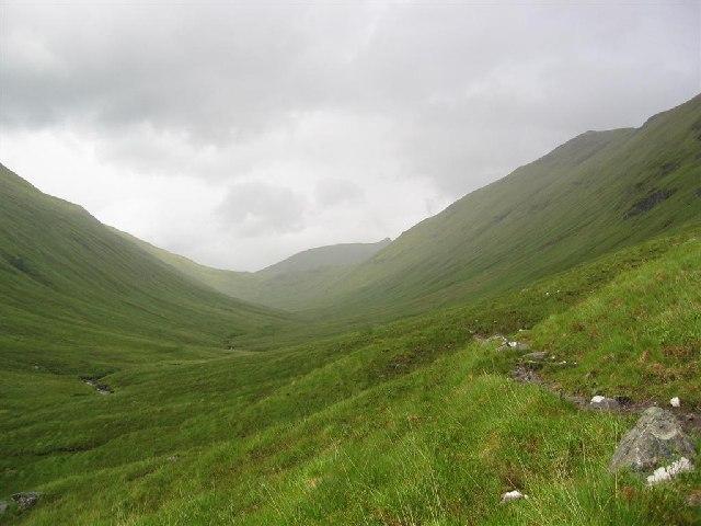 An Caorann Beag en route to Ciste Dubh