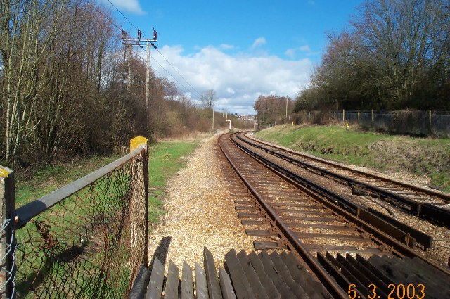 Ryde to Shanklin railway line