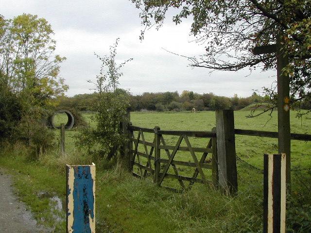 Footpath at Wilne Cross
