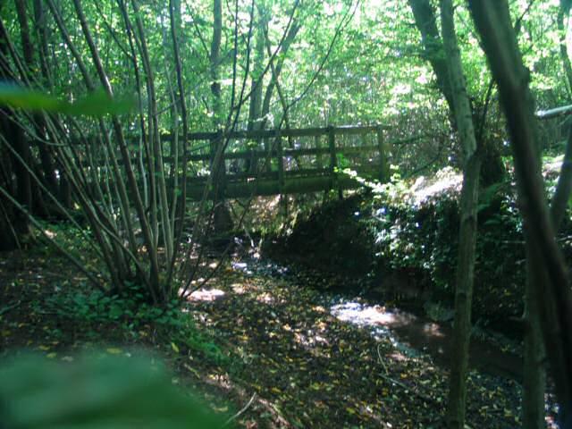 Footbridge to SE of Tenterden