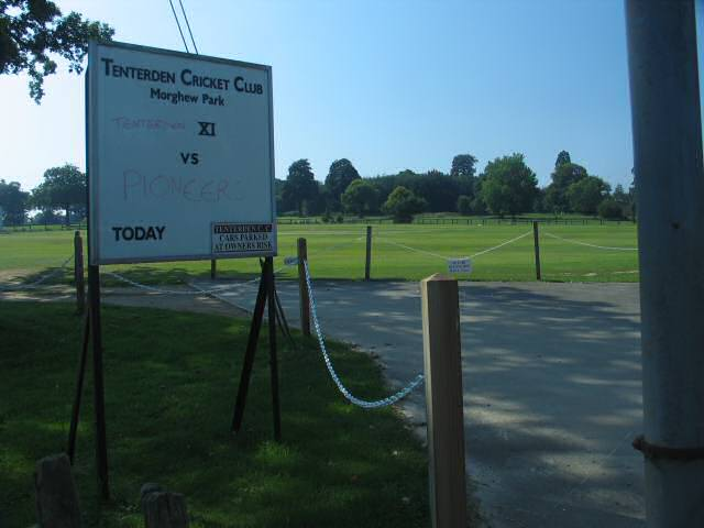 Tenterden Cricket Club, Morghew Park