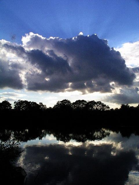Reflections in Mapperley Reservoir