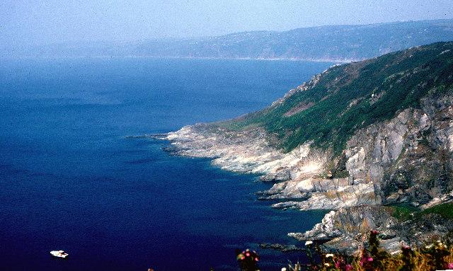 Queener Point cliffs