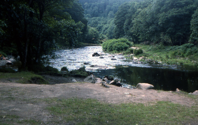 Double Waters, rivers Tavy and Walkham