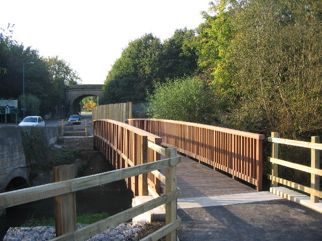 Footbridge over the By Brook