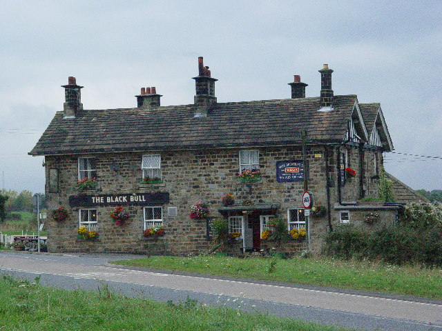 The Black Bull at Kettlesing Head