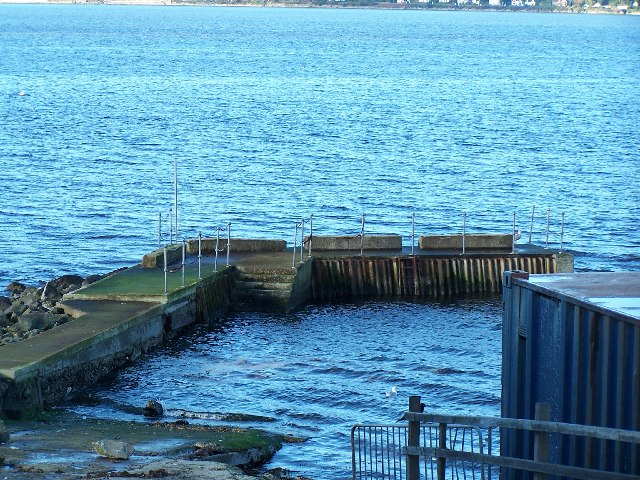 Quay at Cove Sailing Club