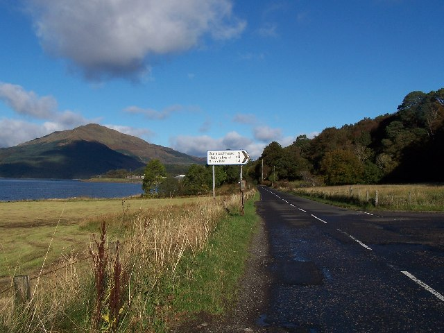 Road Junction to Gareloch