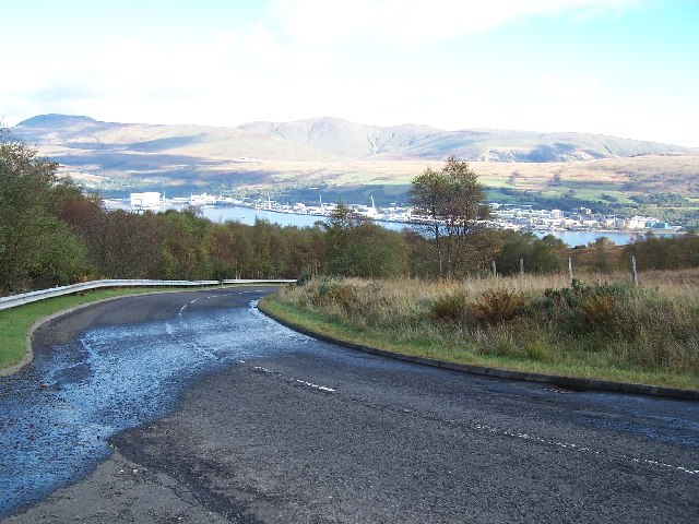Road down to Gareloch