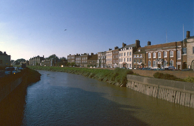 North Brink, Wisbech and the River Nene