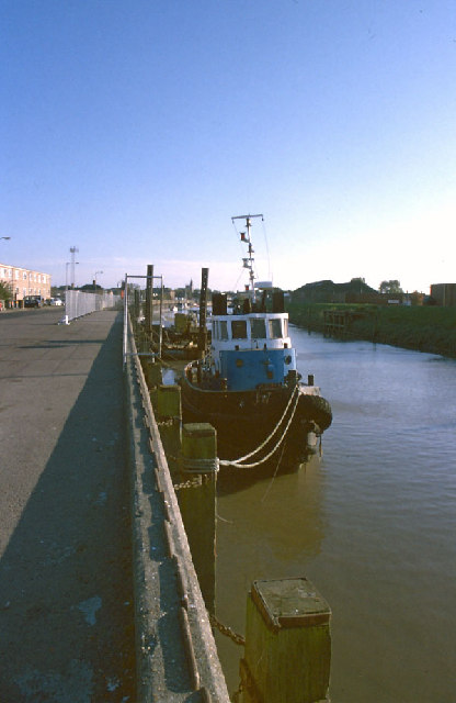 Wisbech port, and River Nene
