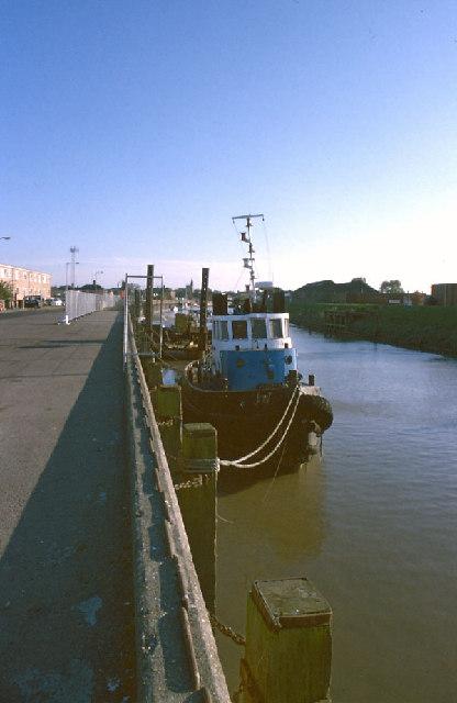 Wisbech port, and River Nene