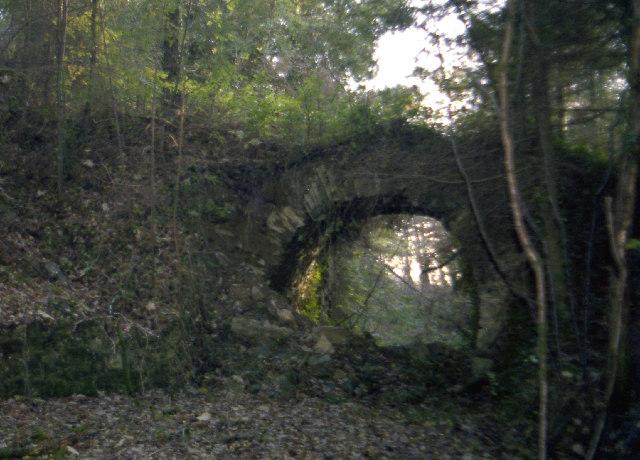 Disused  railway bridge, Wheal Emma, 1979