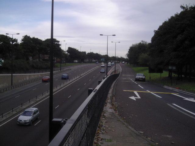 Coast Road/Chillingham Road Slip Road