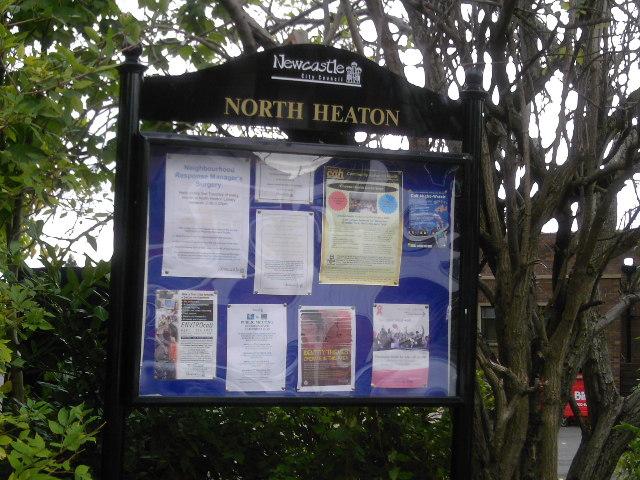 North Heaton Notices