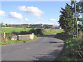 H4872 : Crooked Bridge at Farmhill Road, Omagh by Kenneth  Allen