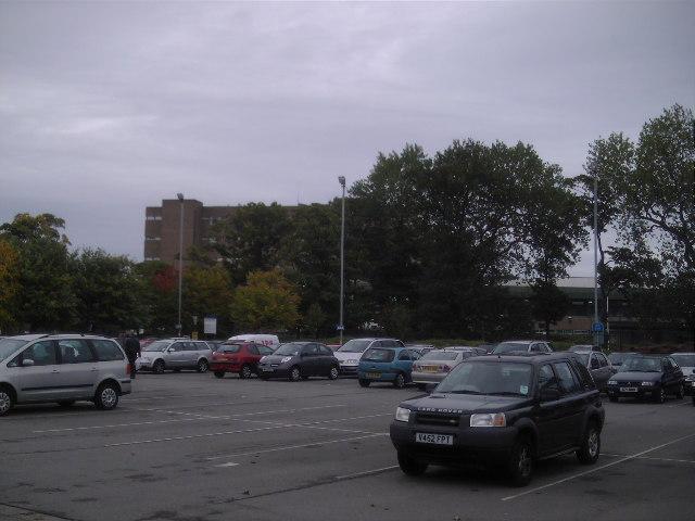 Freeman Hospital Car Park