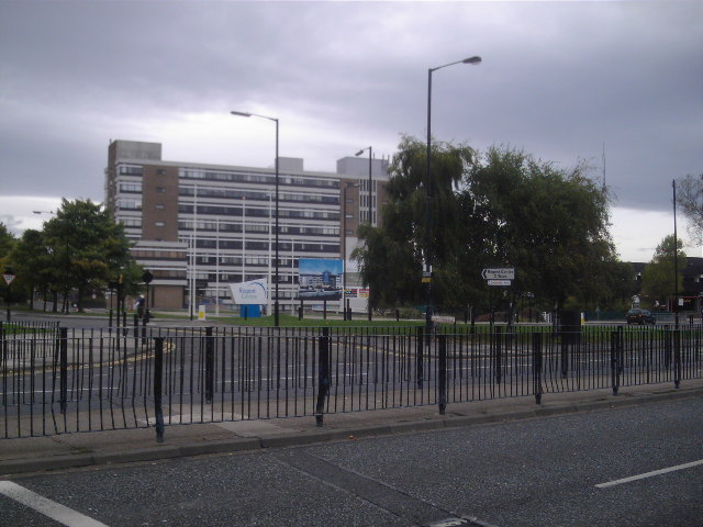 Regent Centre (From Across The Great North Road)