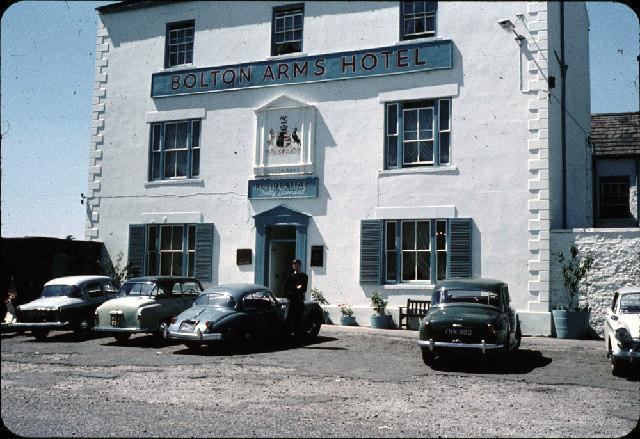 The Bolton Arms, Leyburn, Summer 1960
