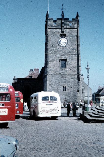 Richmond Market Place - Summer 1960