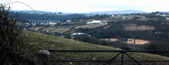 Little Gawton view towards Calstock