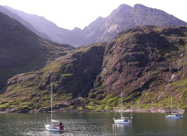 Anchorage in Loch na Cuilce