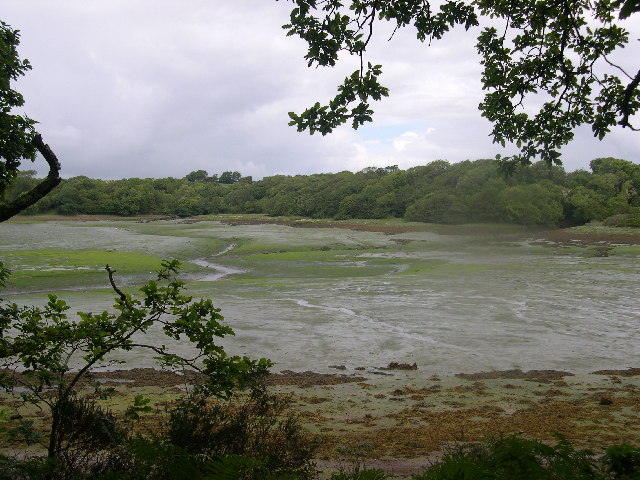 View across Garron Pill