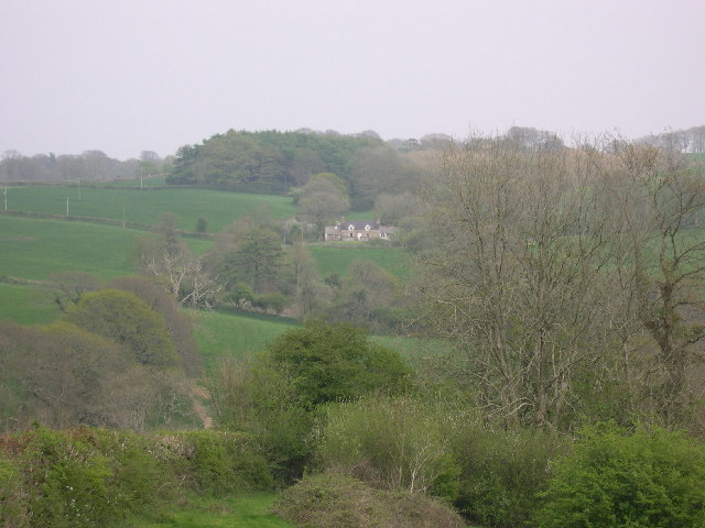 View from Pisgah to Grove Cottage